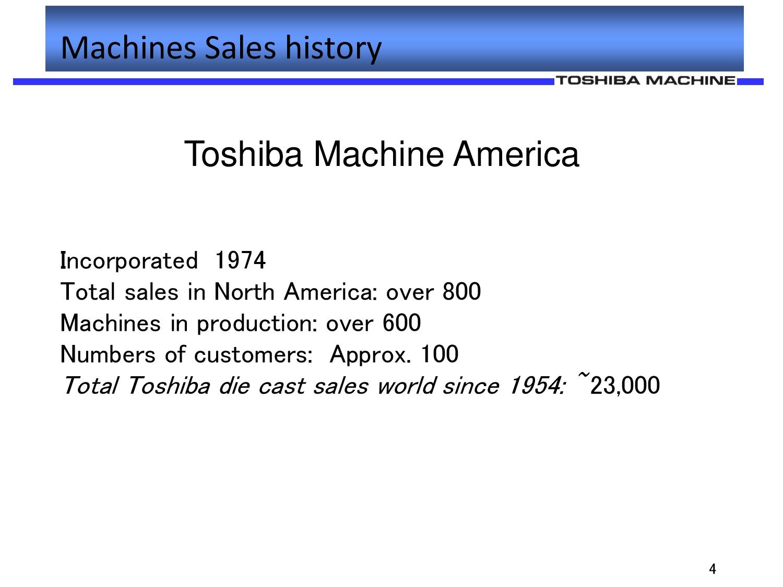 Toshiba Die Cast