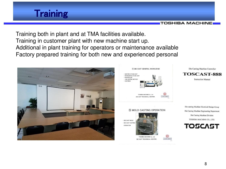 Toshiba Training