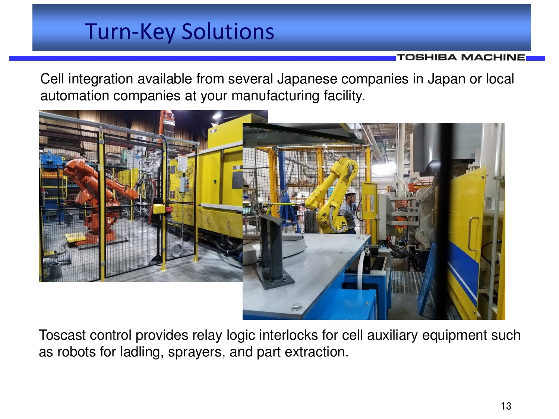 Toshiba Turn Key