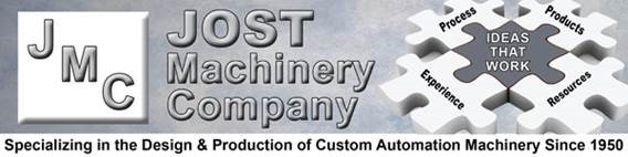 vic@jostmachinery.com               800-222-9607             Jost Machinery Company