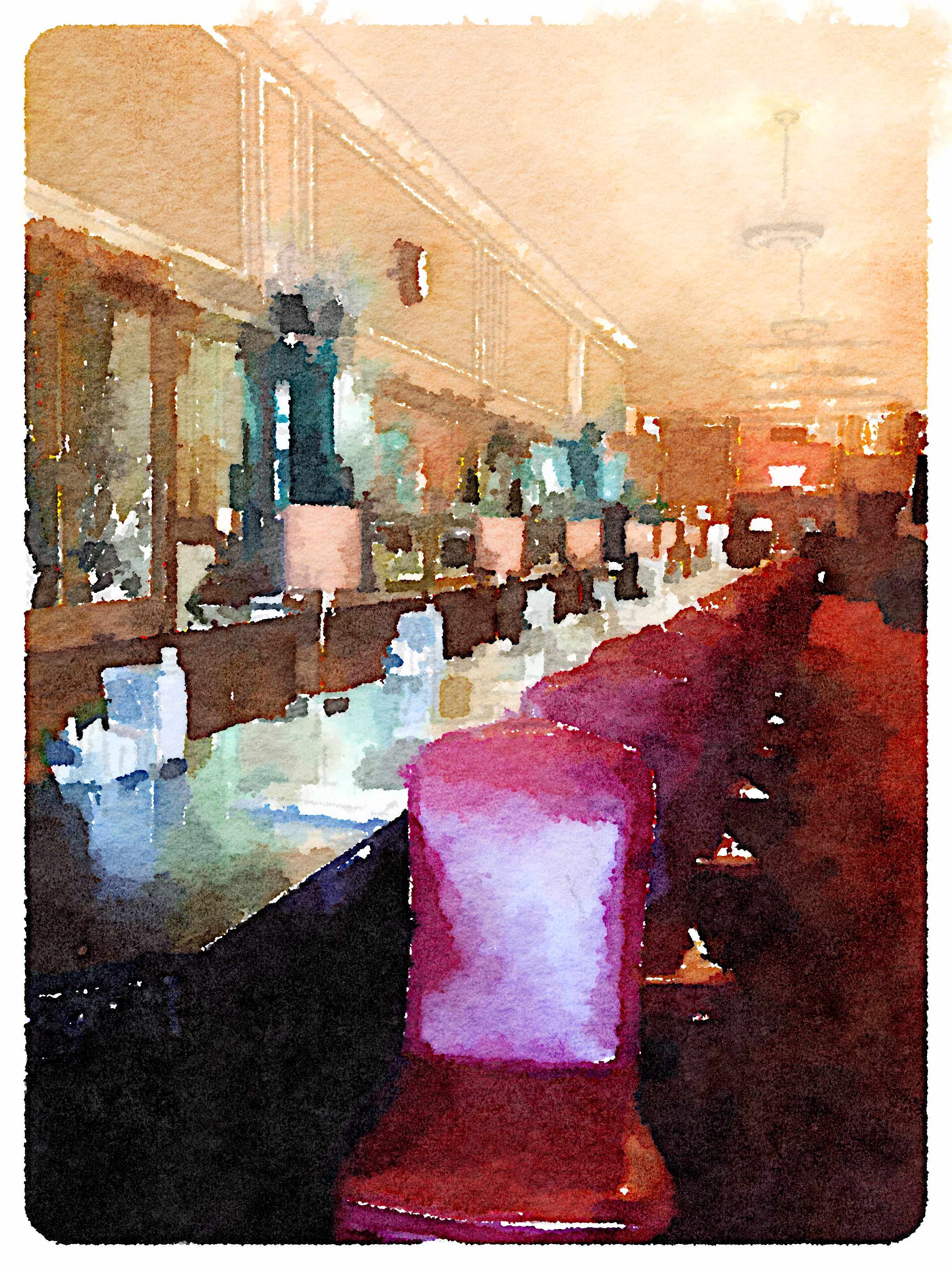 Waterlogue painting - purchase print @  Society6  or  zazzle