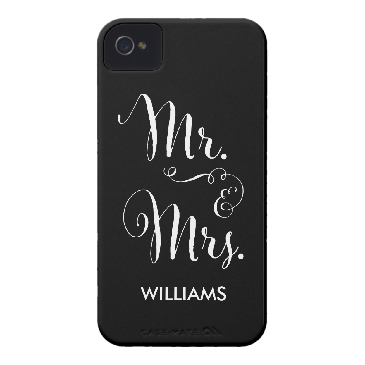 Mr. & Mrs. Personalized Smartphone Case