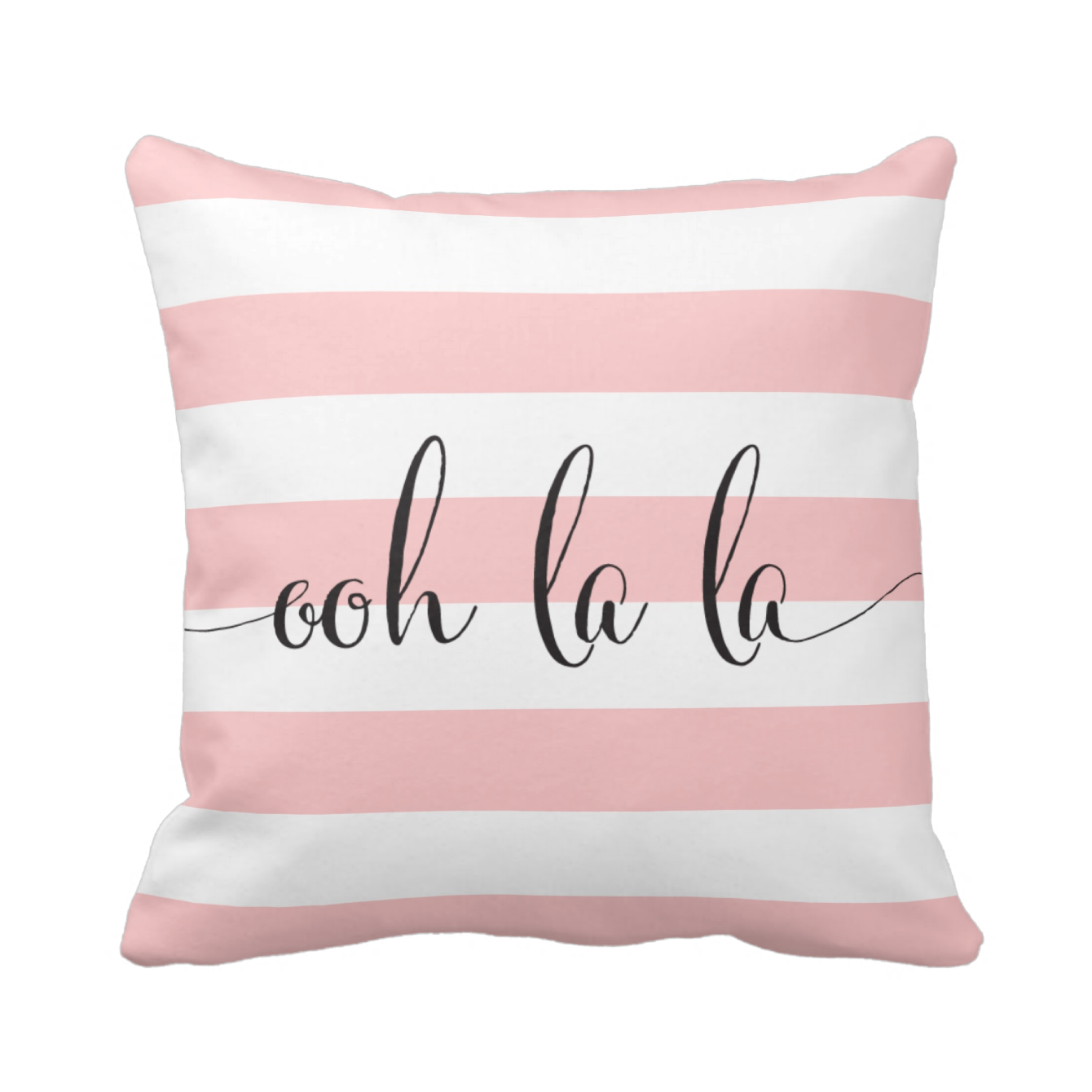 Ooh la la throw pillow   different fabrics available
