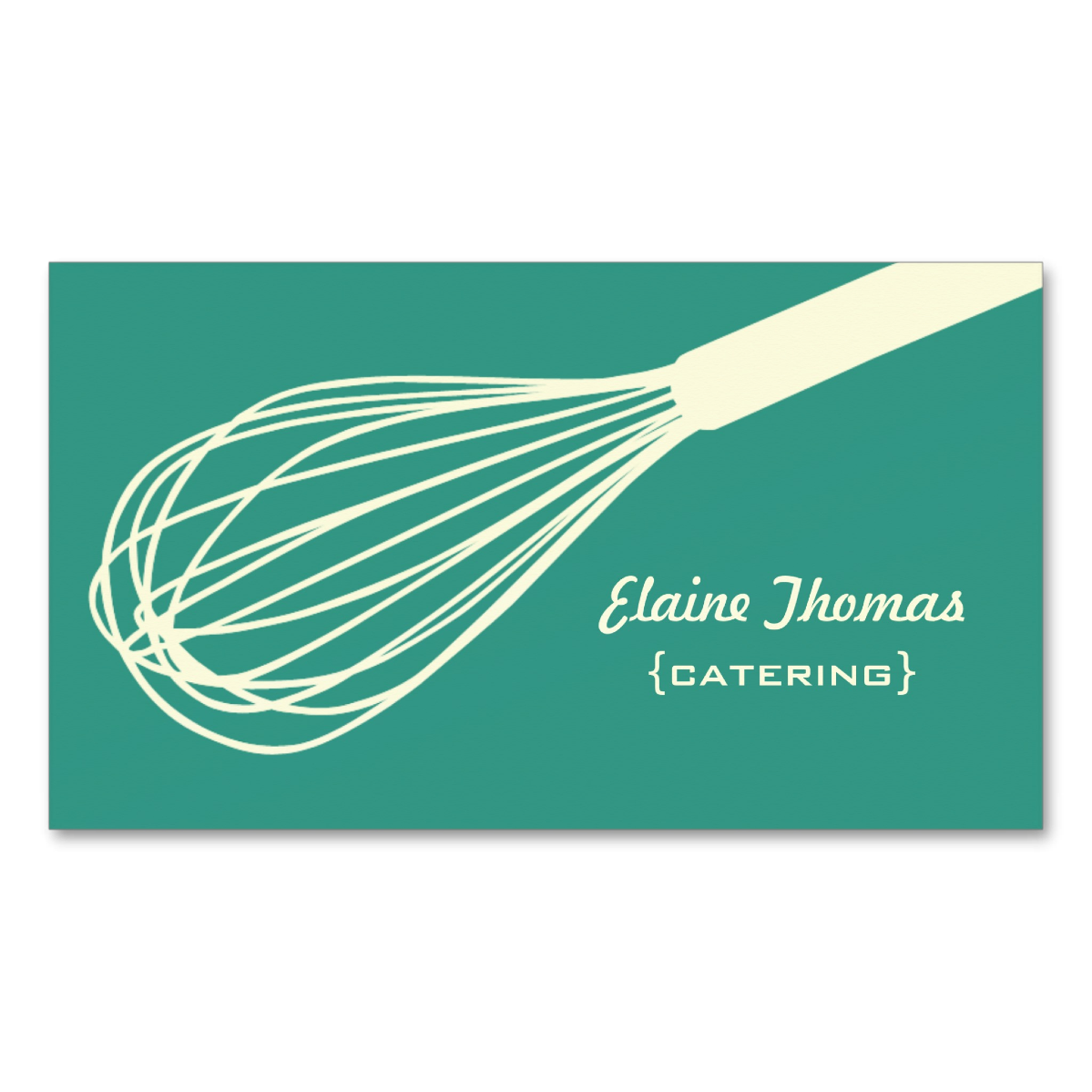 Wire Whisk Business Card
