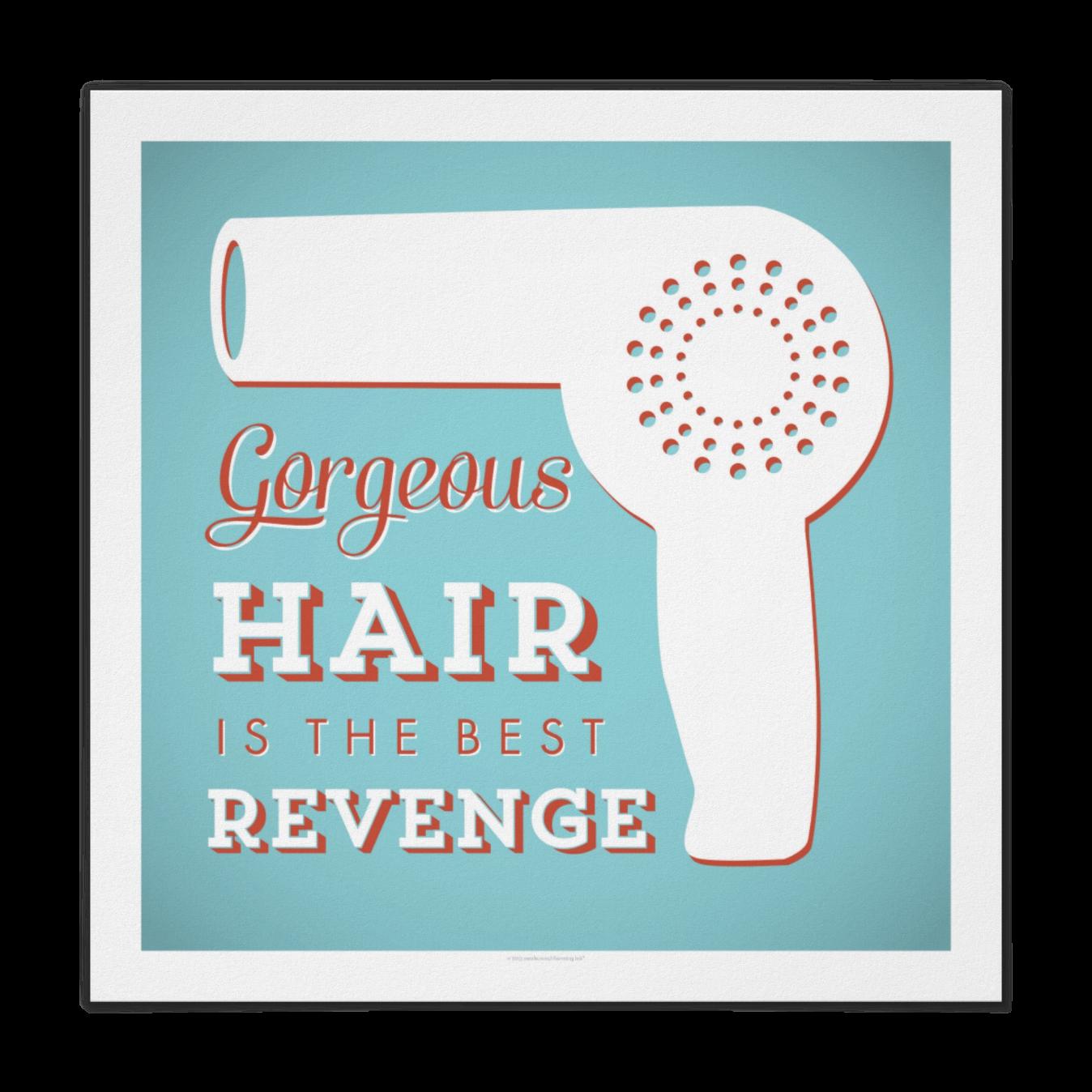 Retro Hairdryer Poster