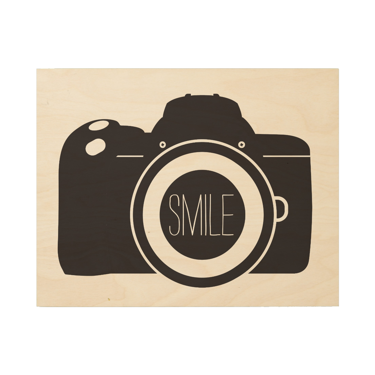 Camera SMILE Wood Canvas