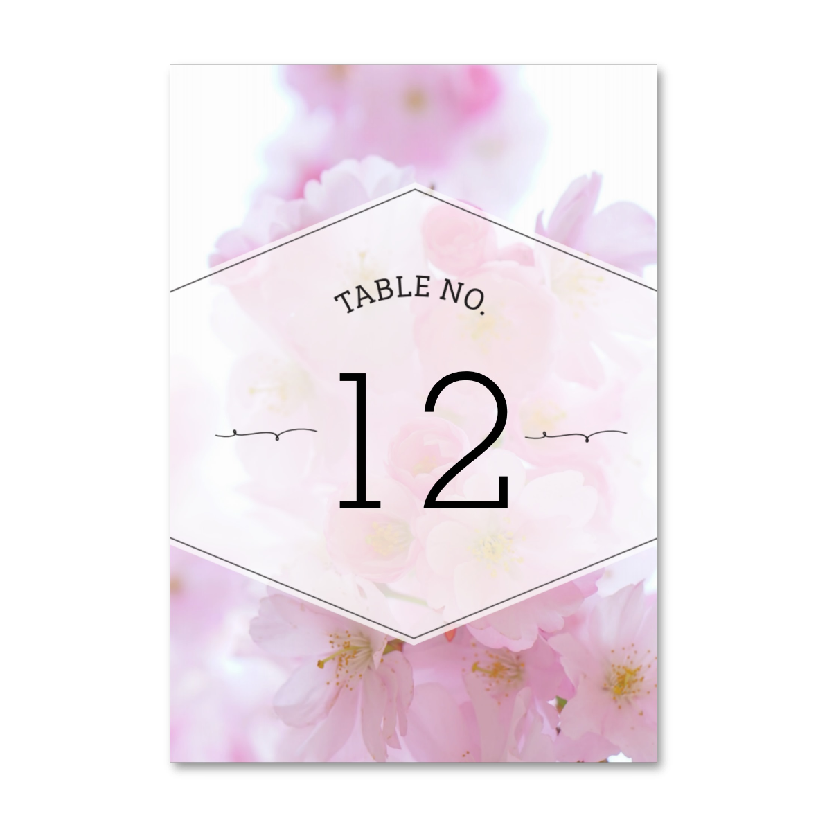 table no. cards