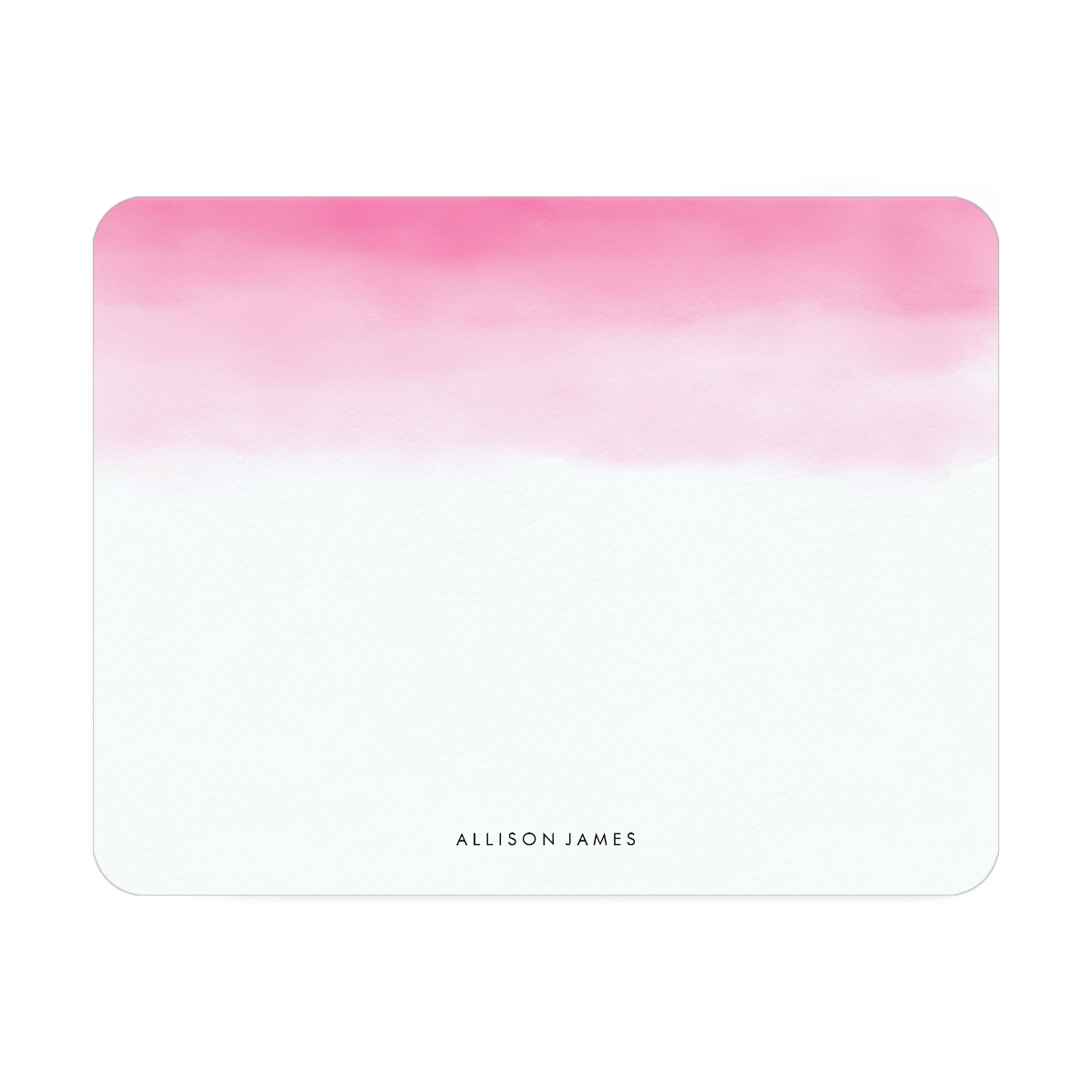 Ombre - Pink   5.5 x 4.25