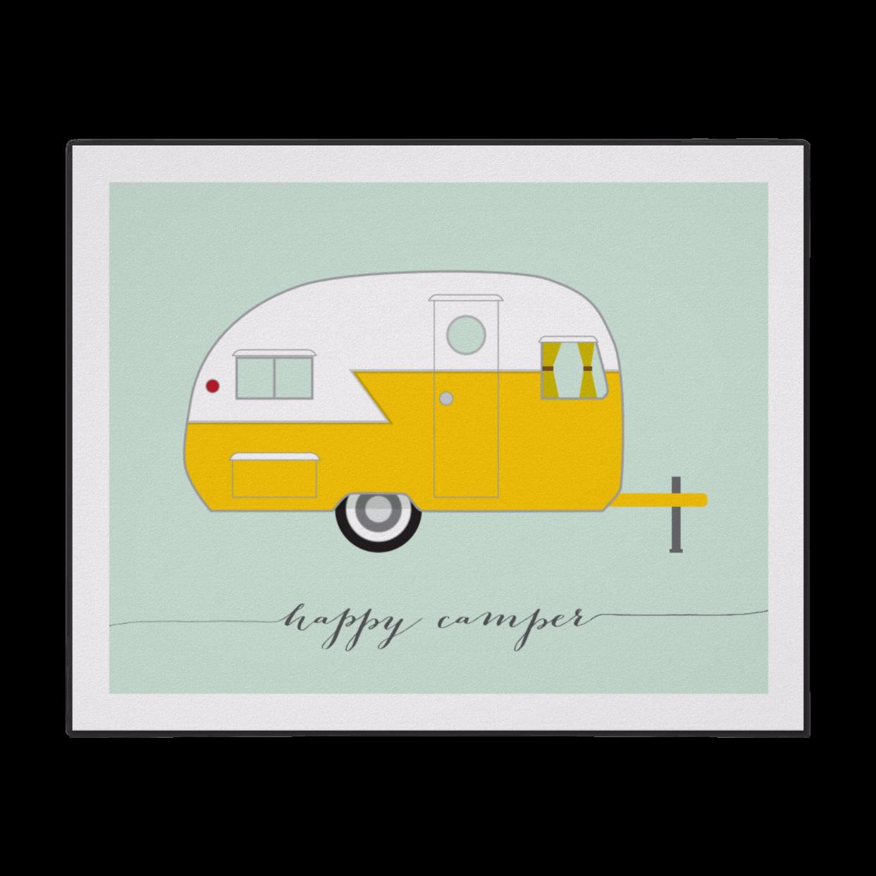 Happy Camper art print