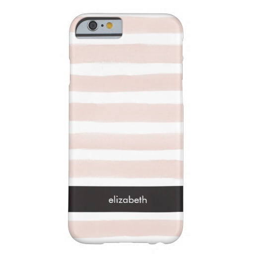 Pink Stripes Personalized