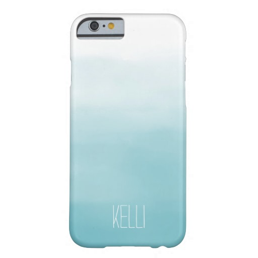 Blue Ombre personalized