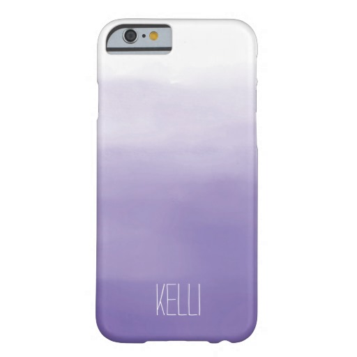 Purple Ombre Personalized