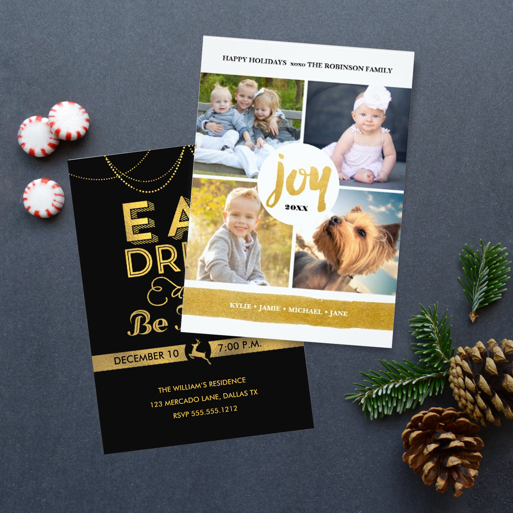 Holiday Greeting & Photo Cards