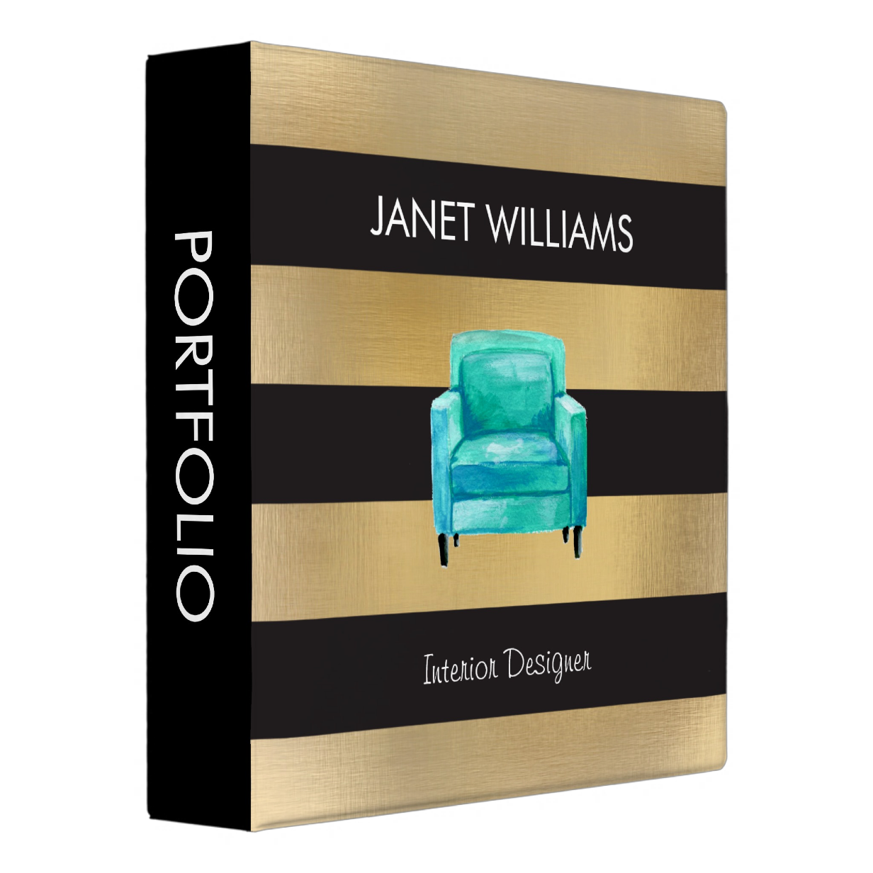 Interior Design Portfolio Binder