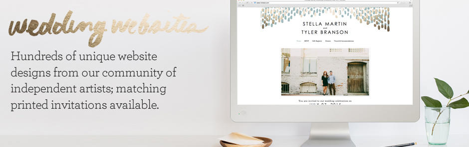 Free and premium websites at  minted.com