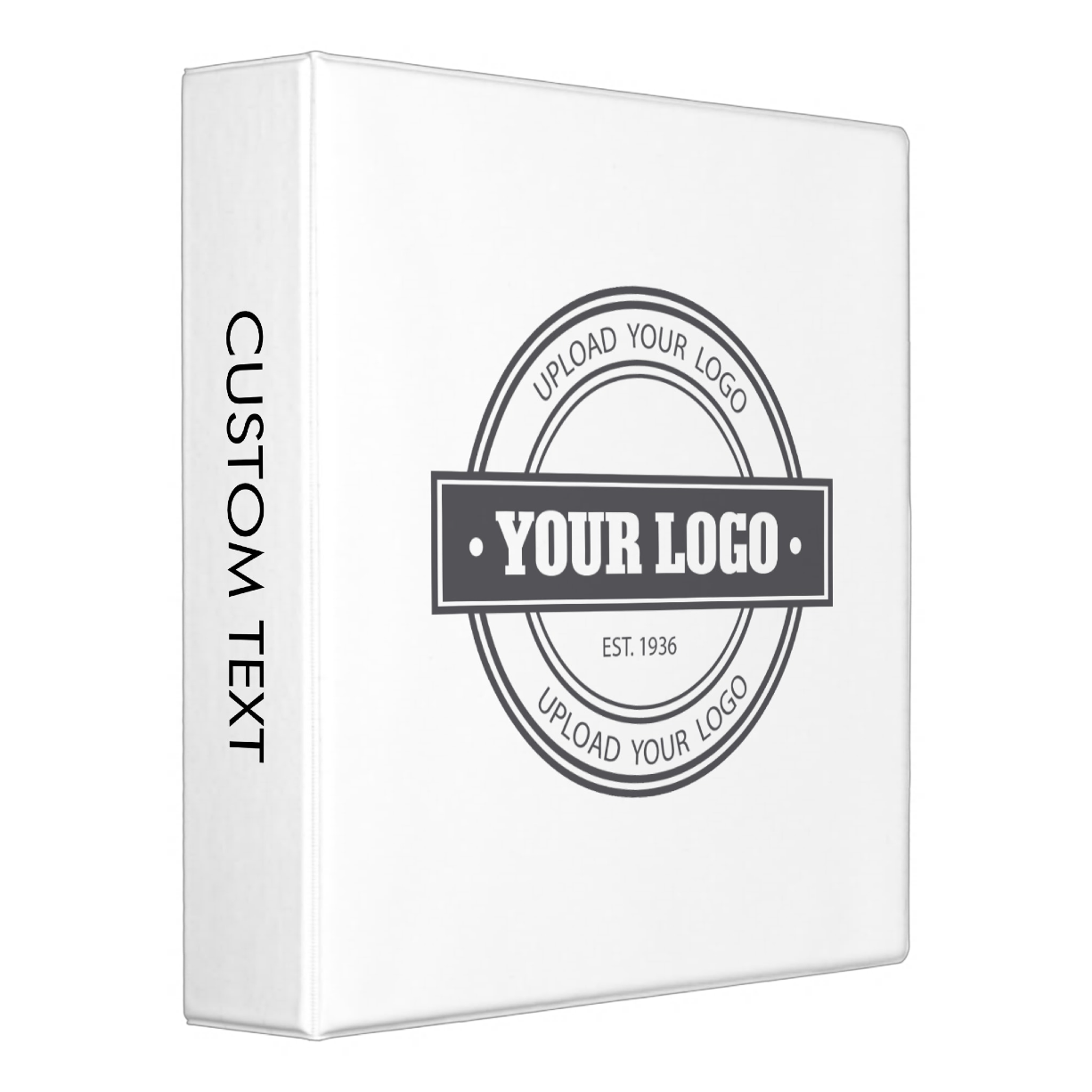 Customize with your Logo Binder