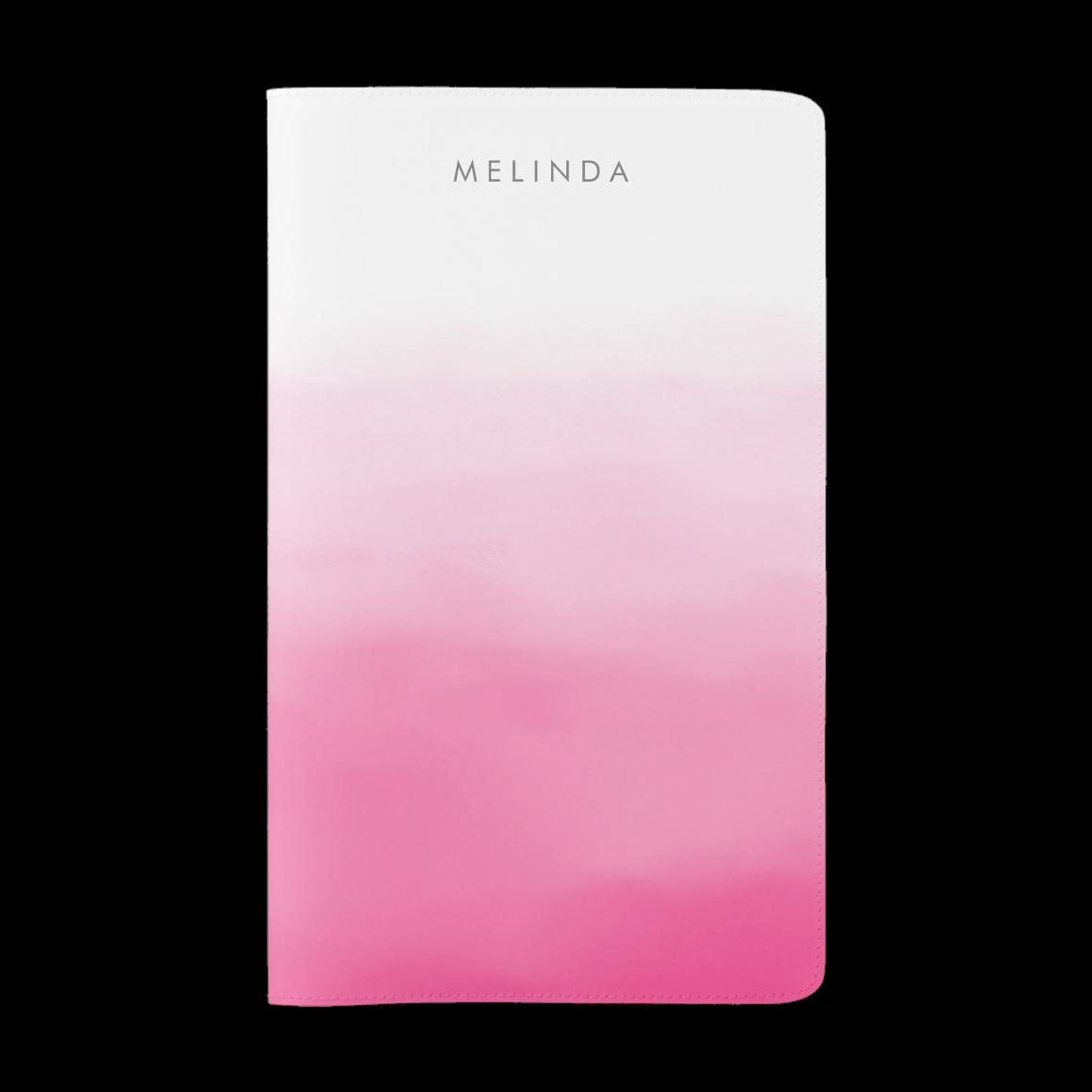 Pink Ombre Moleskine Notebook