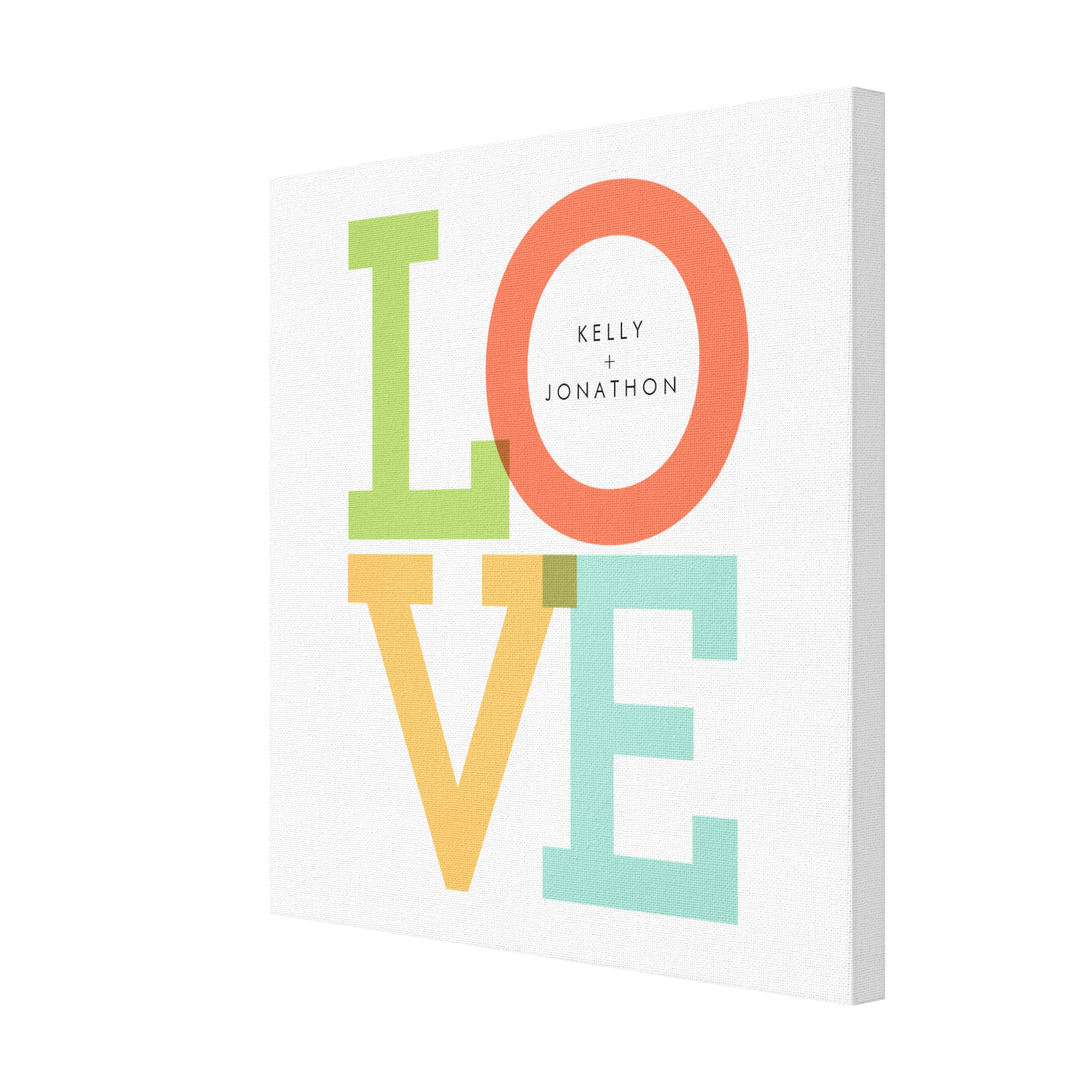 LOVE Personalized Canvas