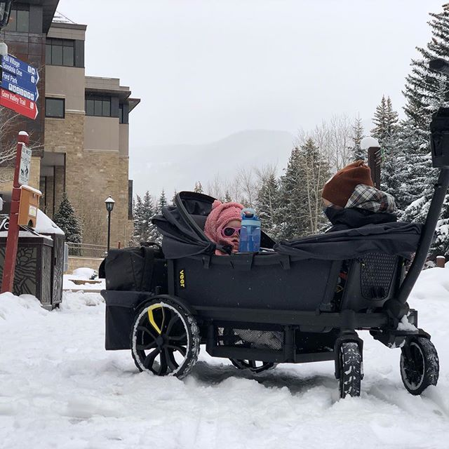 Flashback to our Vail trip  #latergram #goveer #jessedavisflanders #fionadruflanders #snow #mountains #kids