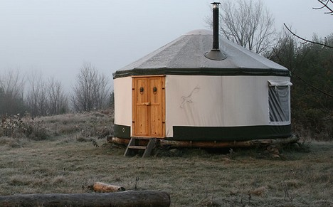 ... at least it's not a yurt.