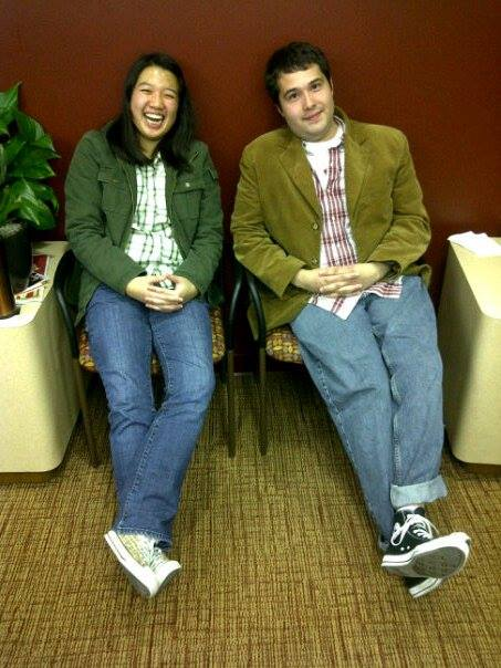 2011 Spring: Karl Nickenig (GM 2010-2011) and Alex Yen (Assistant GM 2010-2011), as she was being trained to be GM.
