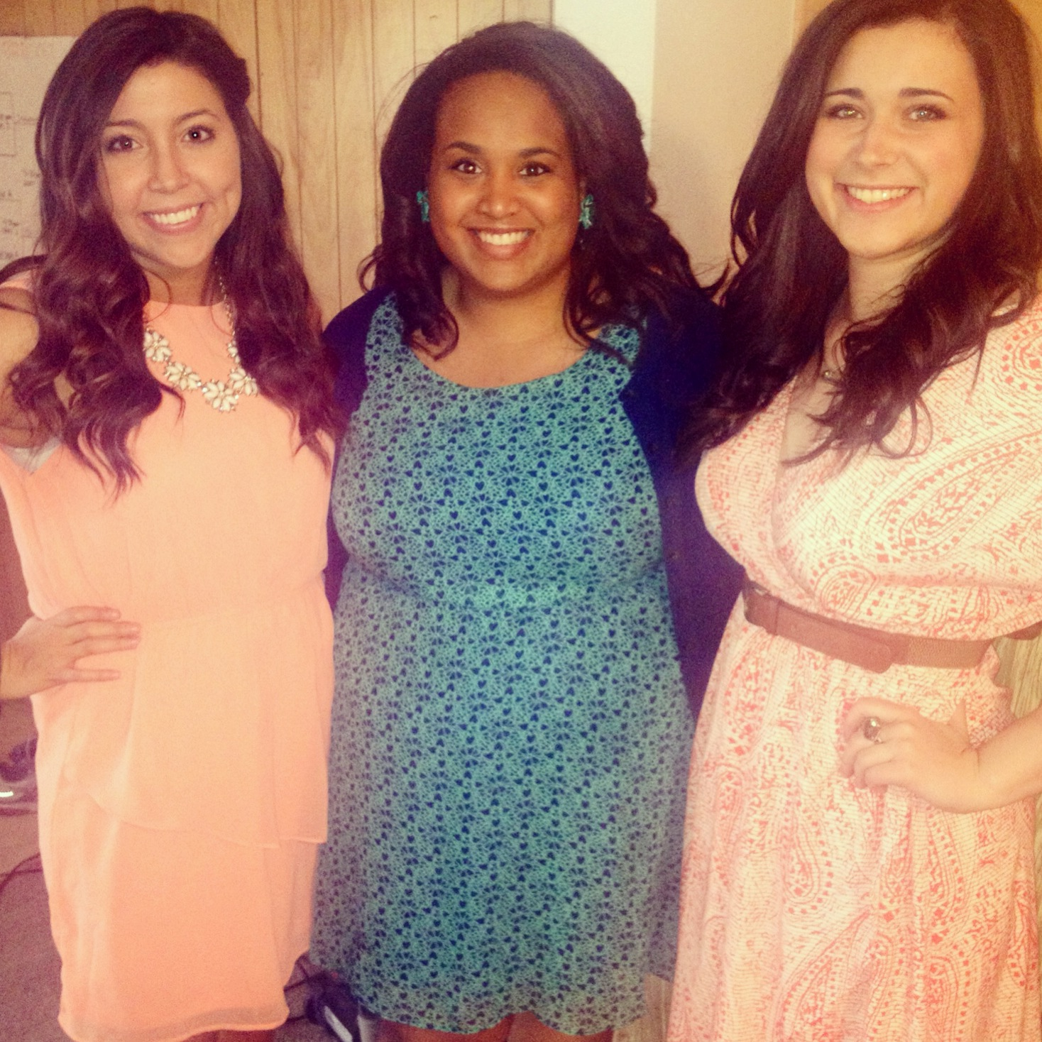Journalism awards ceremony with two of my best gals, Taylor and Catherine.