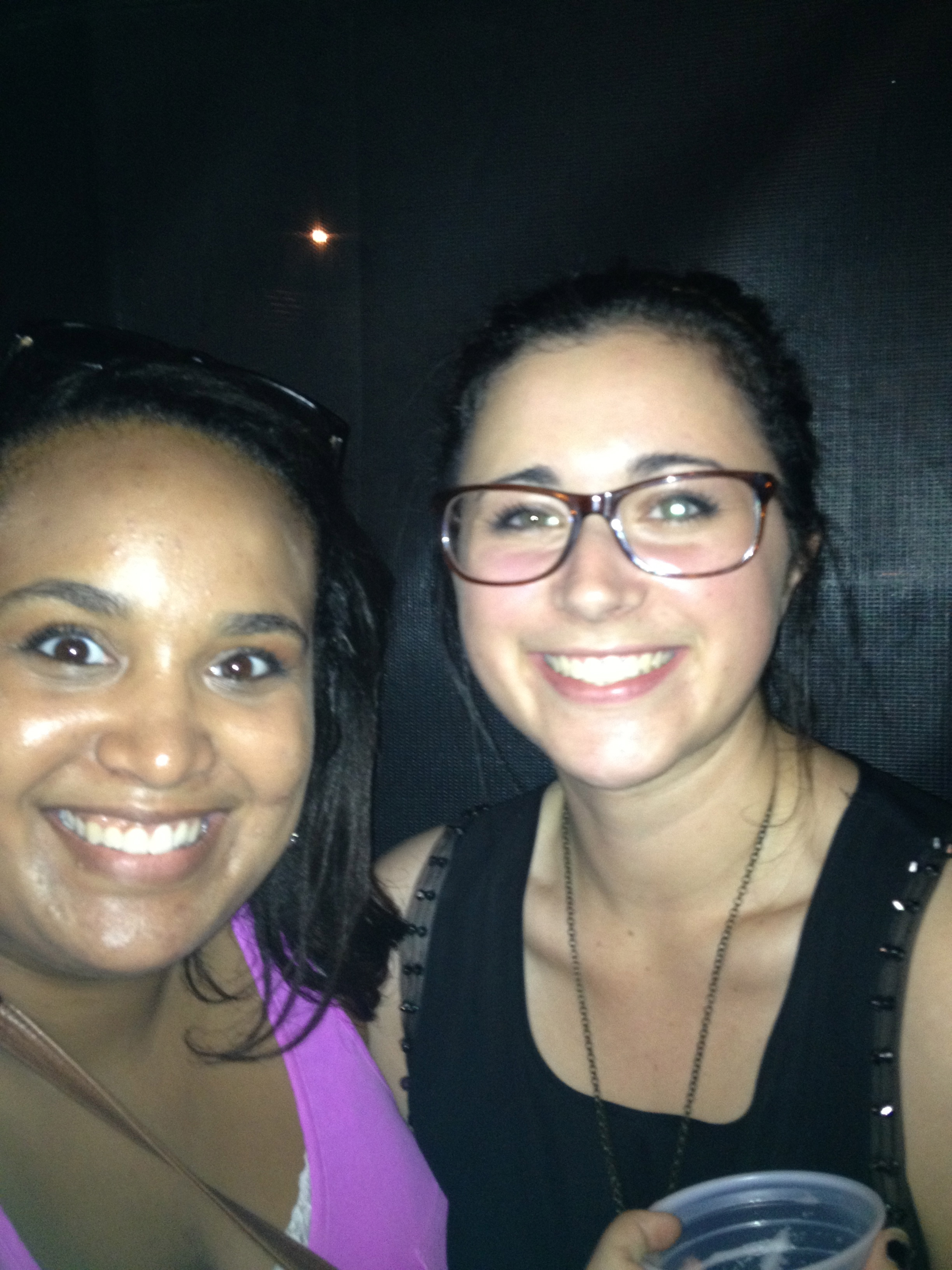 Catherine and I sweating our butts off at a Walk the Moon concert in Columbus!