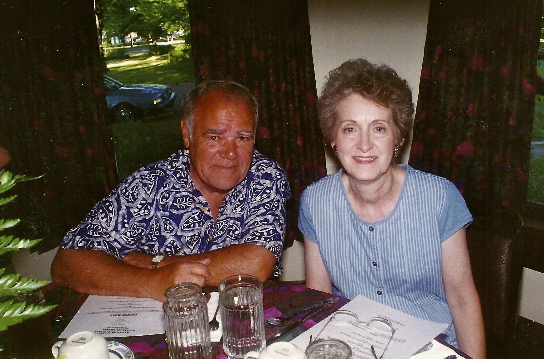 with Grandpa Jim
