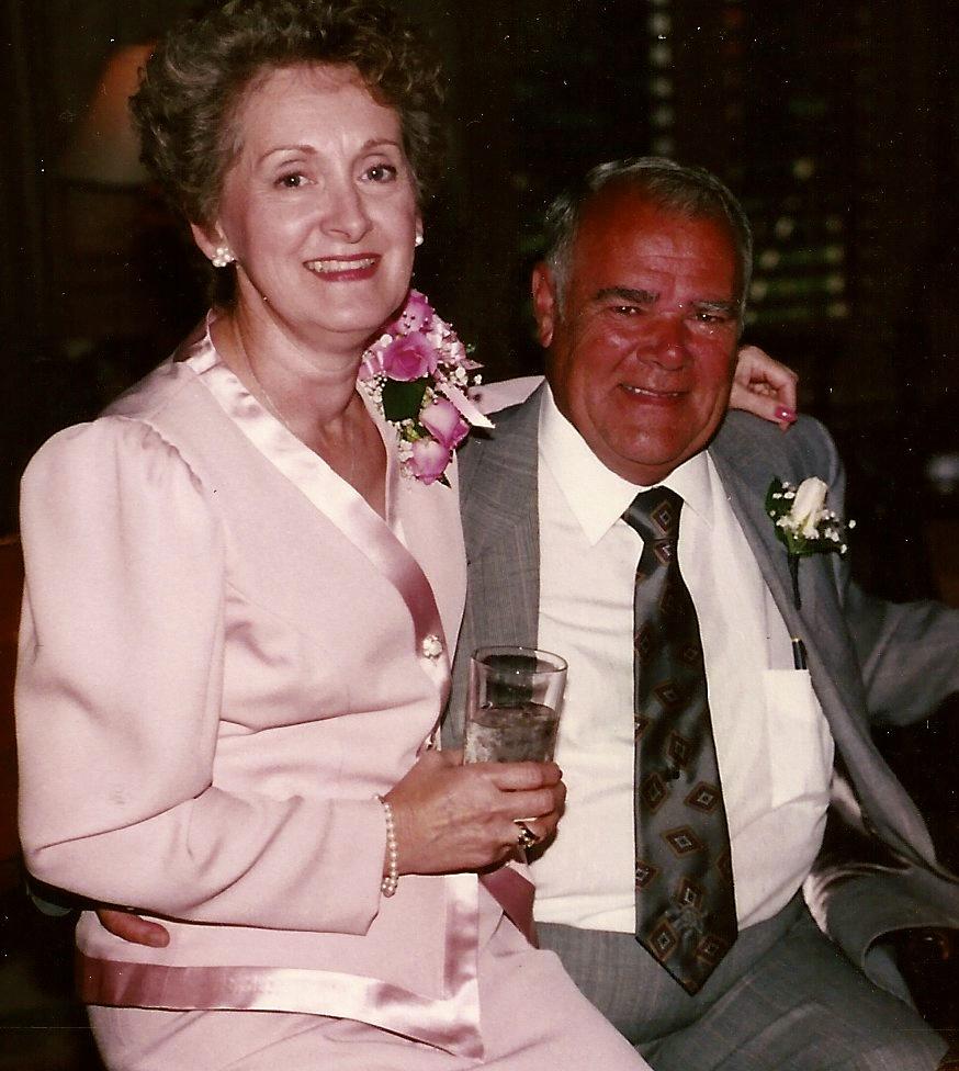 Celebrating their 35th wedding anniversary.