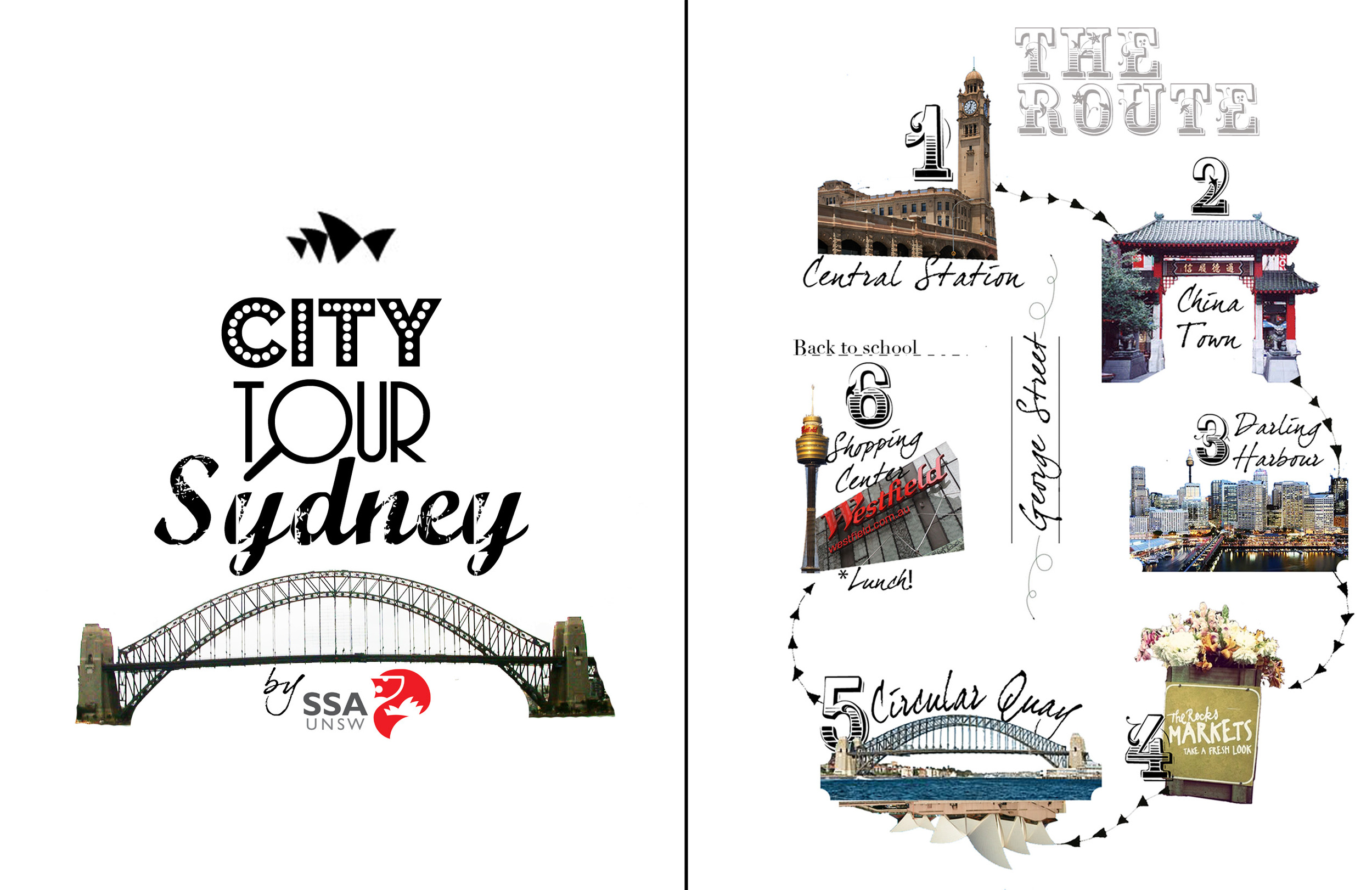 Quick City Map    Pen, Photos and Photoshop