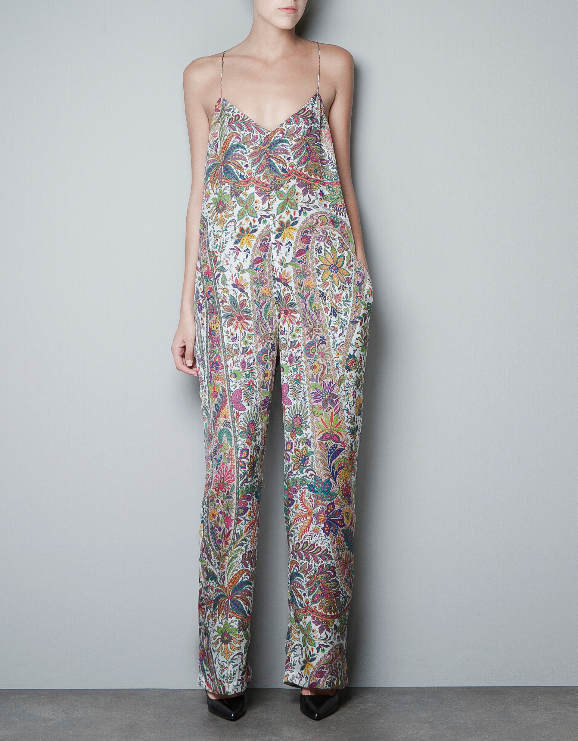 Zara Paisley Jumpsuit