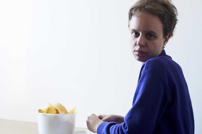 Livia, resident at Drahuskovo centre for autism, Slovakia