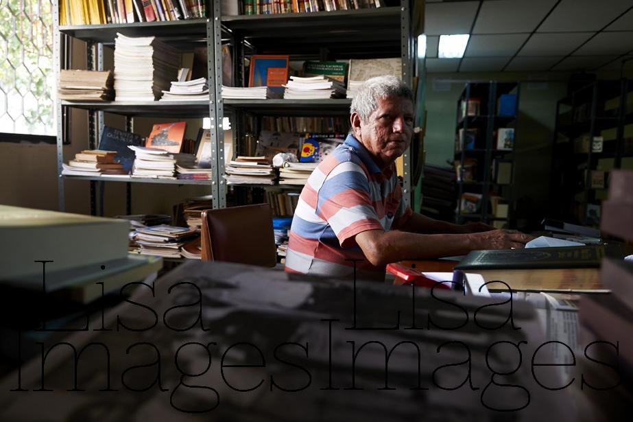 The local library, Aracataca - a literature lovers dream.