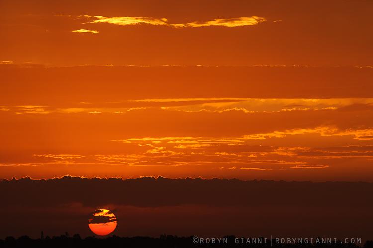 Sunset, Madagascar