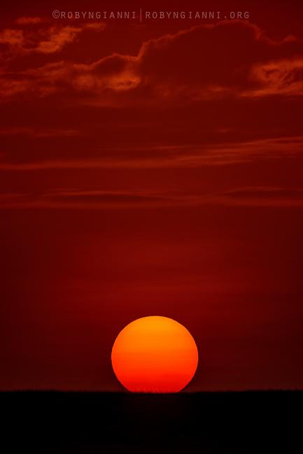 Sunset, Maasai Mara, East Africa
