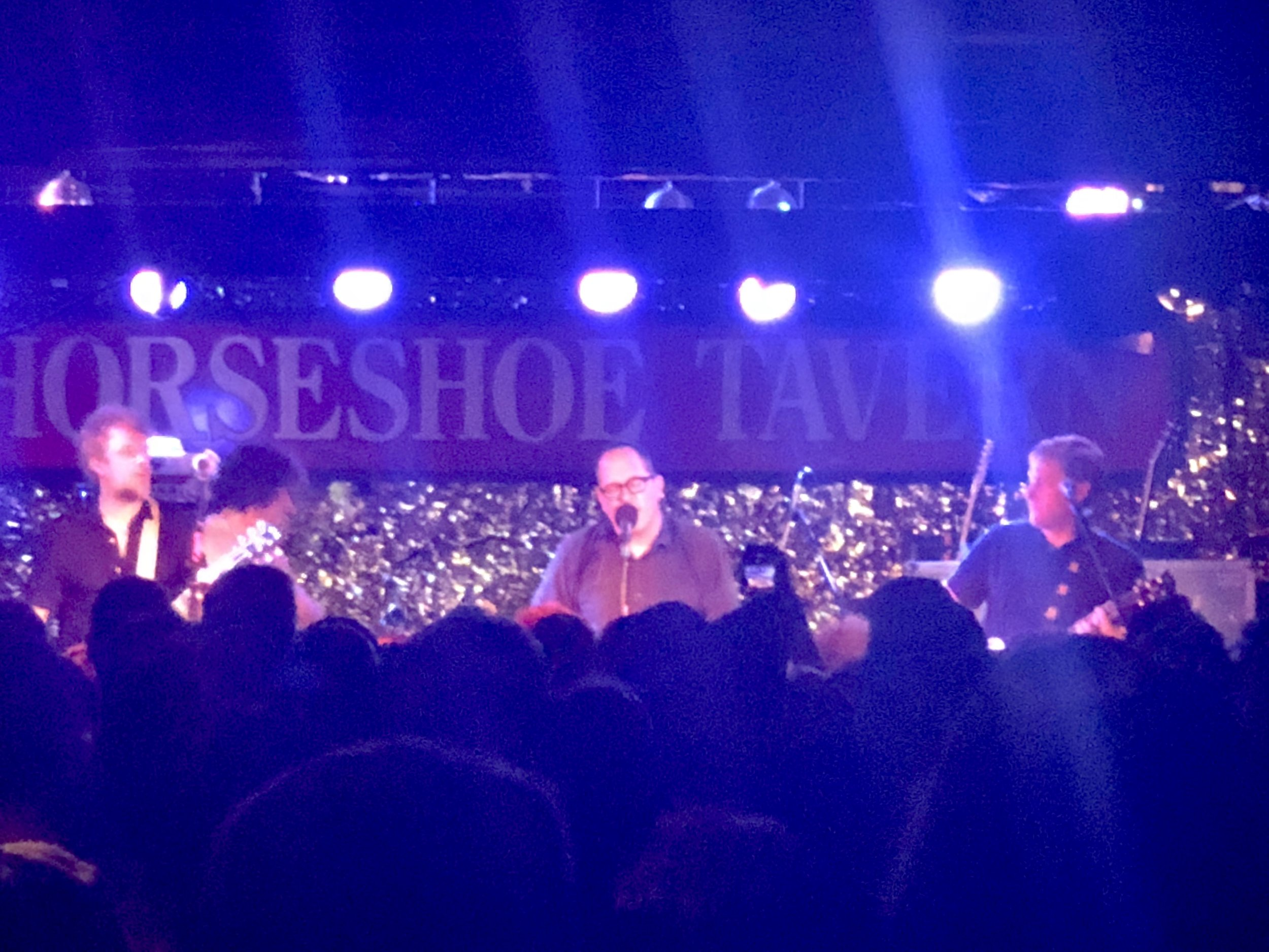 Packed Hold Steady show at the Legendary Horseshoe Tavern.