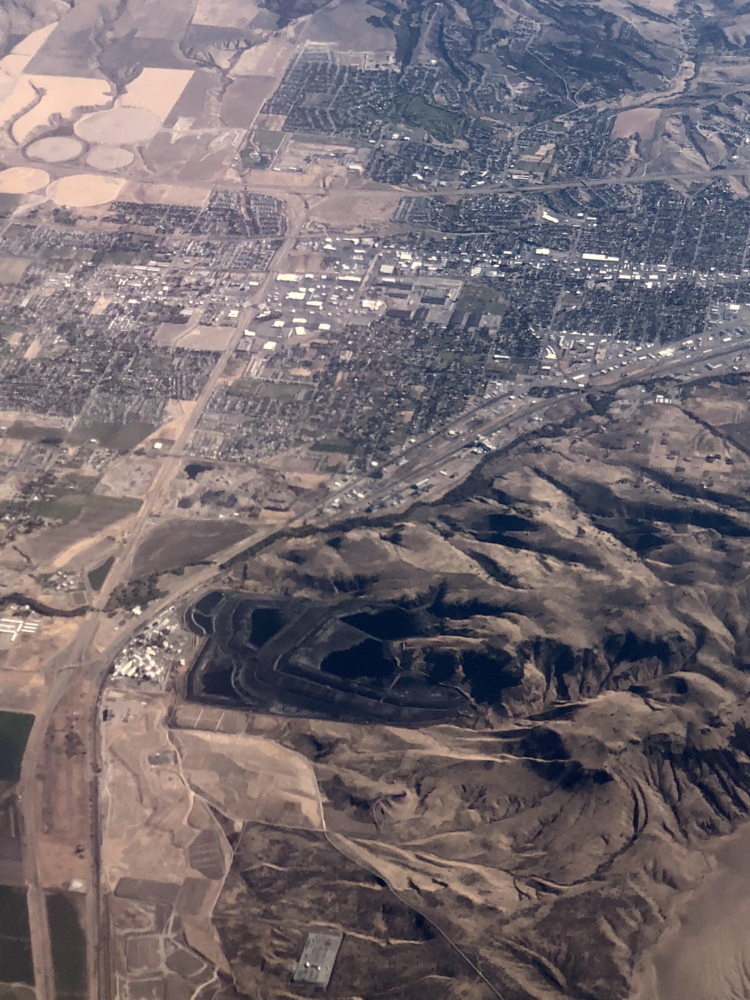 Phosphate fertilizer manufacturing plant in Pocatello, Idaho