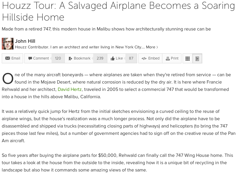david hertz tour wing house green sustainable 747 airplane houzz john hill salvaged.png