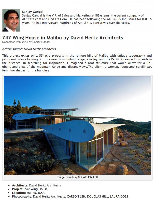 davidhertzgreensustainablearchitecturearchitectseavenice wing house malibu aeccafe sanjay gangal aec