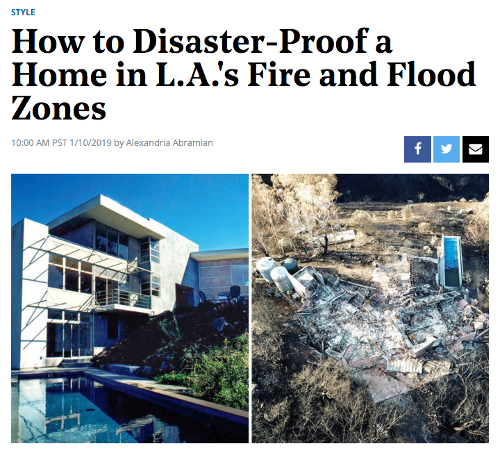 01.14.19 screenshot taken from Hollywood Reporter website (https://www.hollywoodreporter.com/news/how-disaster-proof-a-home-las-fire-flood-zones-1174522)