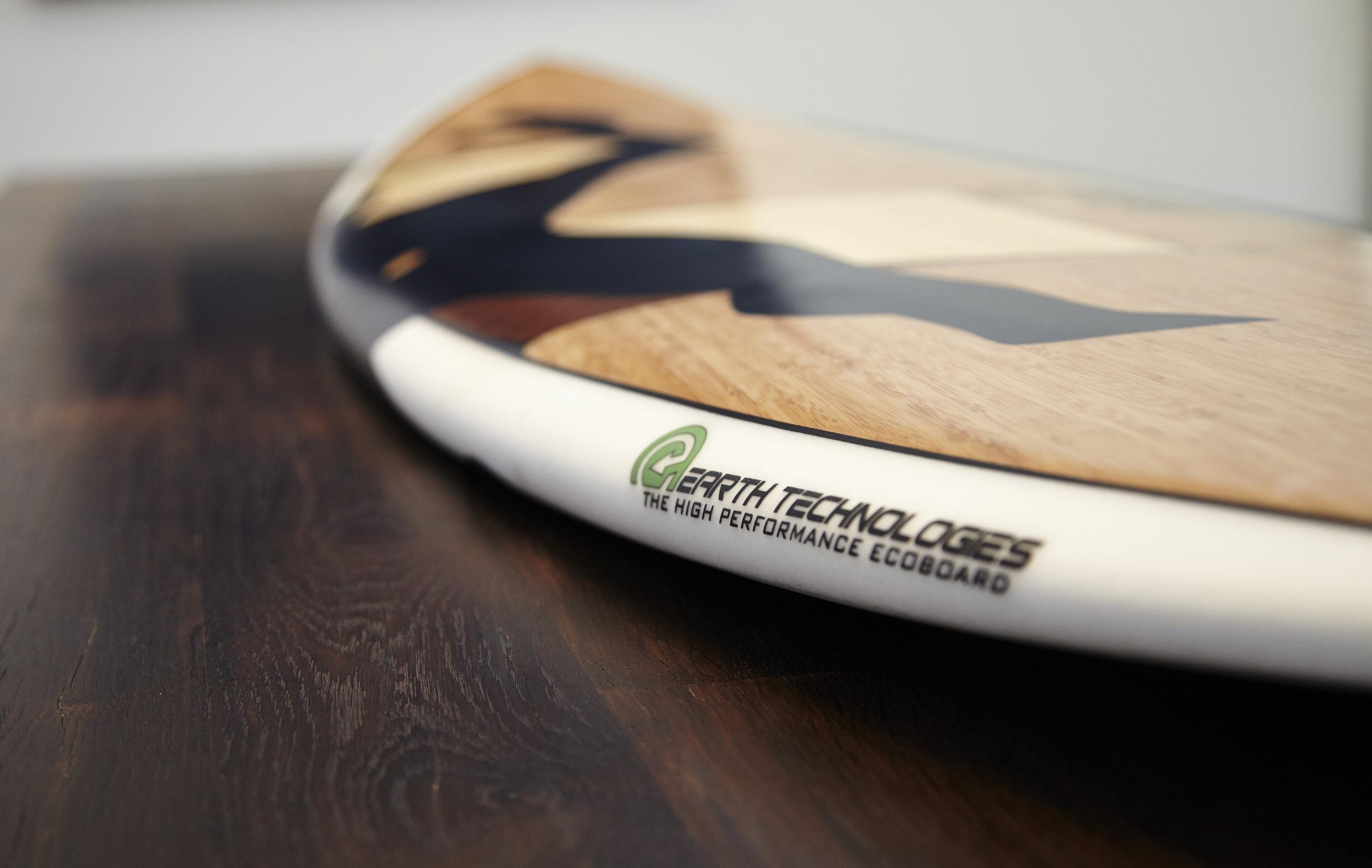 A+D Custom Sustainable Surfboard — David Hertz Architects