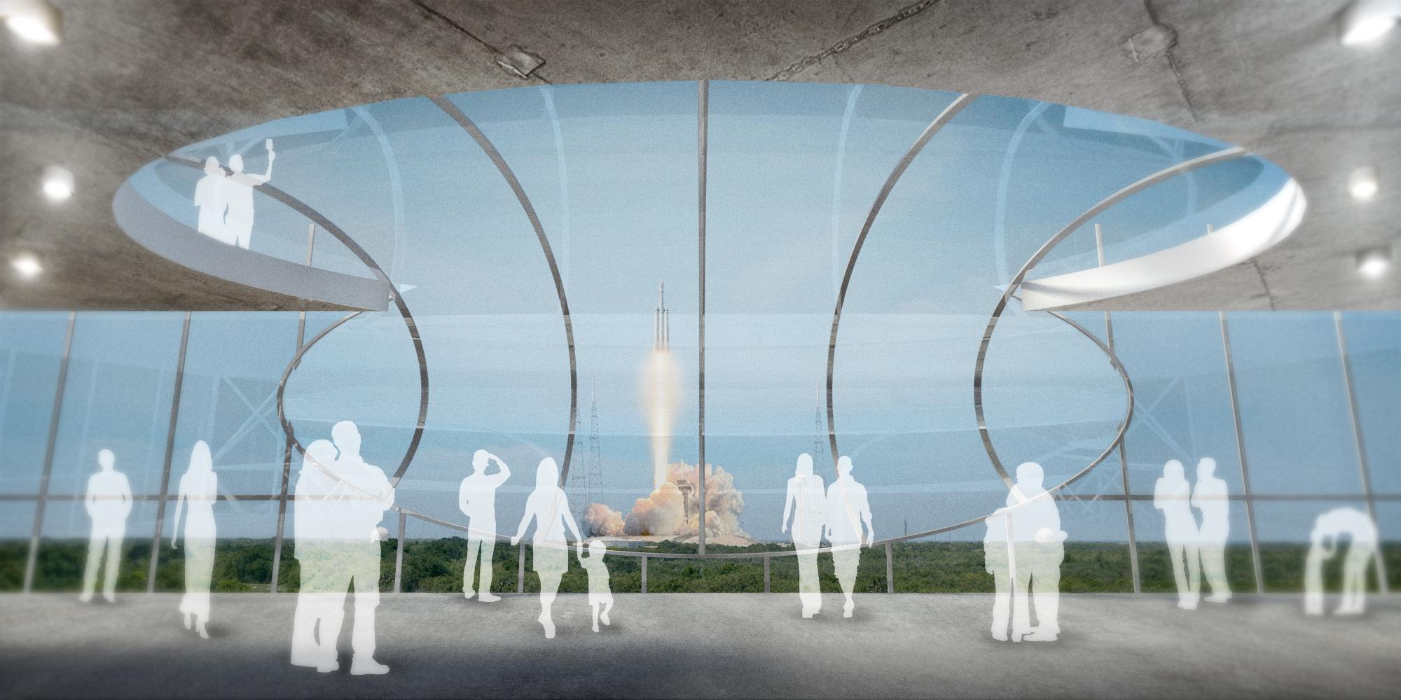 S.E.A.-Studio-Environmental-Architecture-David-Hertz-FAIA-Launch-Facility-Cape-Canaveral-Florida-sustainable-regenerative-restorative-green-design-Spacex-rocket-spaceship-astronaut-cosmos-space-exploration-cosmic-interstellar-tower-cool-rendering-4.jpg