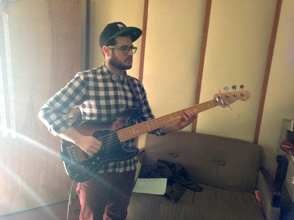 Michael Feinberg on bass.