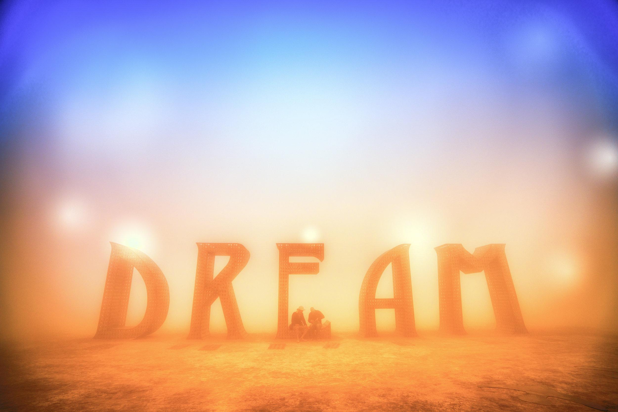 """DREAM"" by Laura Kimpton , 2015 ( Photo by John Chandler )"