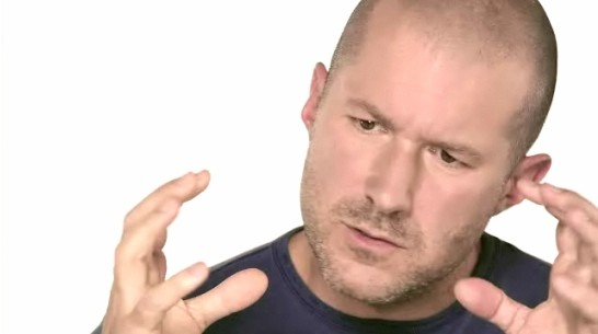 Jony Ive conceiving things in his white world