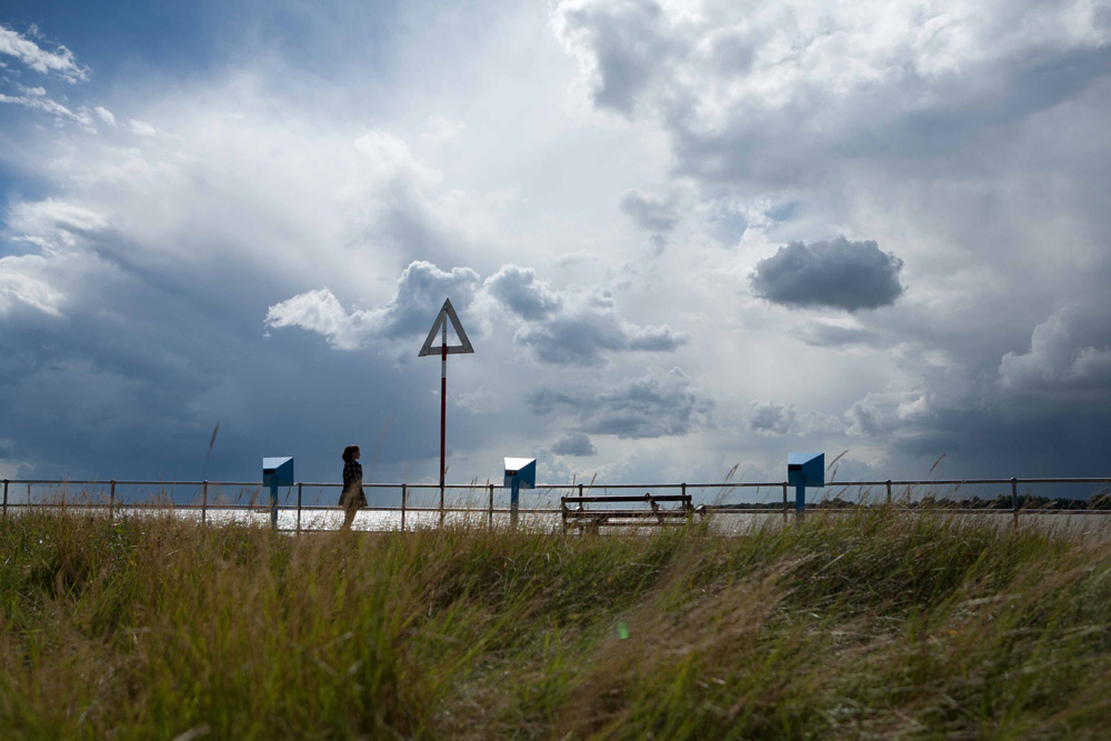 ...it is 89 days this morning since we left the mumbles head... Pilot Festival, Brightlingsea, Essex, 2013 - Photograph: Tony Millings