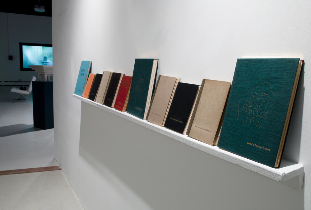 11 collectable editions Ethan Frome: foil blocked with additional titles   ' Recollect', Wysing Arts Contemporary: 2012