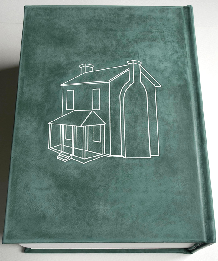 'you must have seen Ethan Frome'  260 pagehandprinted, leather bound and foil blocked book -2013