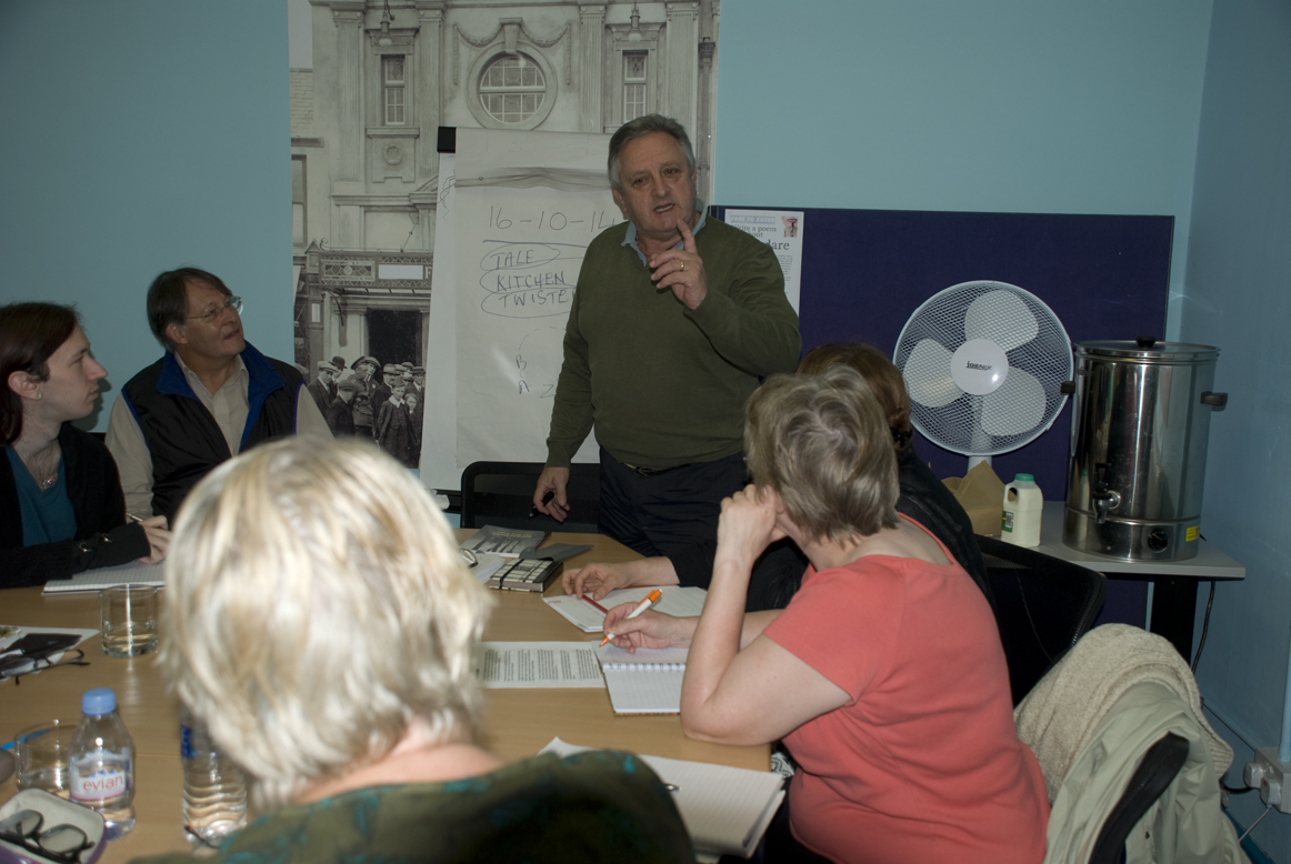 Writing workshop with Phil Carradice