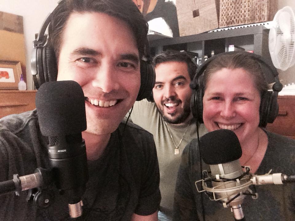 Dr. Kirk Honda, Humberto, and Rebecca Bloom, LMHC, ATR-BC (2016)